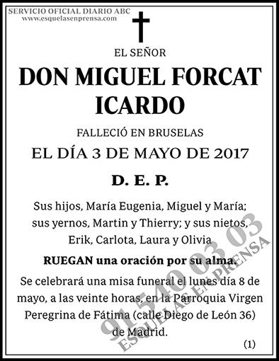 Miguel Forcat Icardo